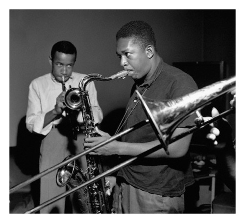 Lee Morgan and John Coltrane