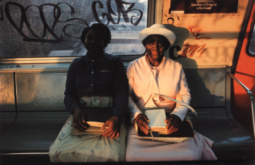 Untitled, Subway, New York, Early 1980's