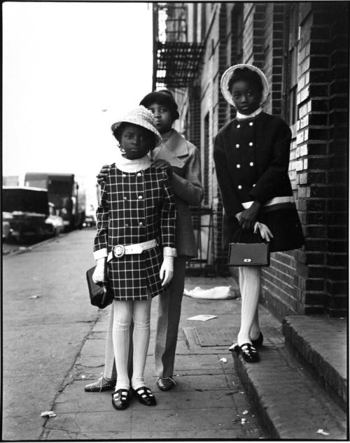 THREE-GIRLS-EAST-100TH-STREET-NEW-YORK-CITY-1966-68-1-C30624
