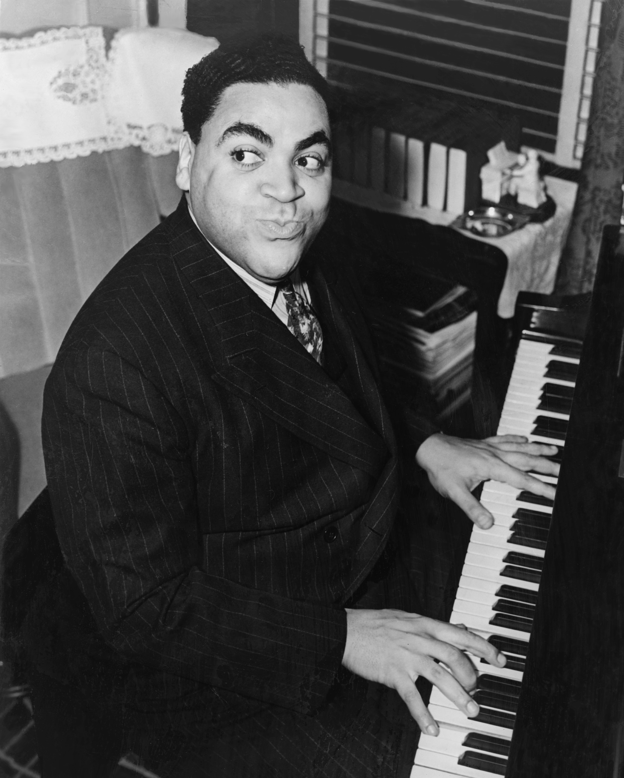 Tuesday, November 18th   music clip of the day Fats Waller Songs
