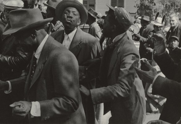 Second_Liners_at_Mardi_Gras_1957
