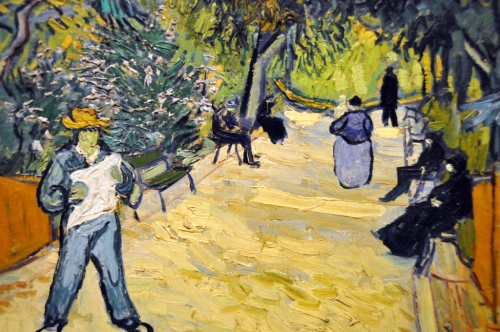 Vincent van Gogh - Entrance to the Public Gardens in Arles, 1888