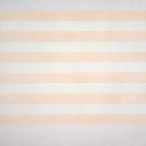 Agnes Martin Happy Holiday, 1999 Acrylic and graphite on canvas 60 x 60 in. (152.4 x 152.4 cm) Pace#31903 AM Catalogue #1999.025 Date of photography: Format of original photography: 8x10 transparency
